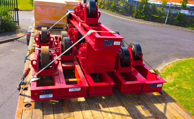18 CR 20 Tonne Welding Rotators
