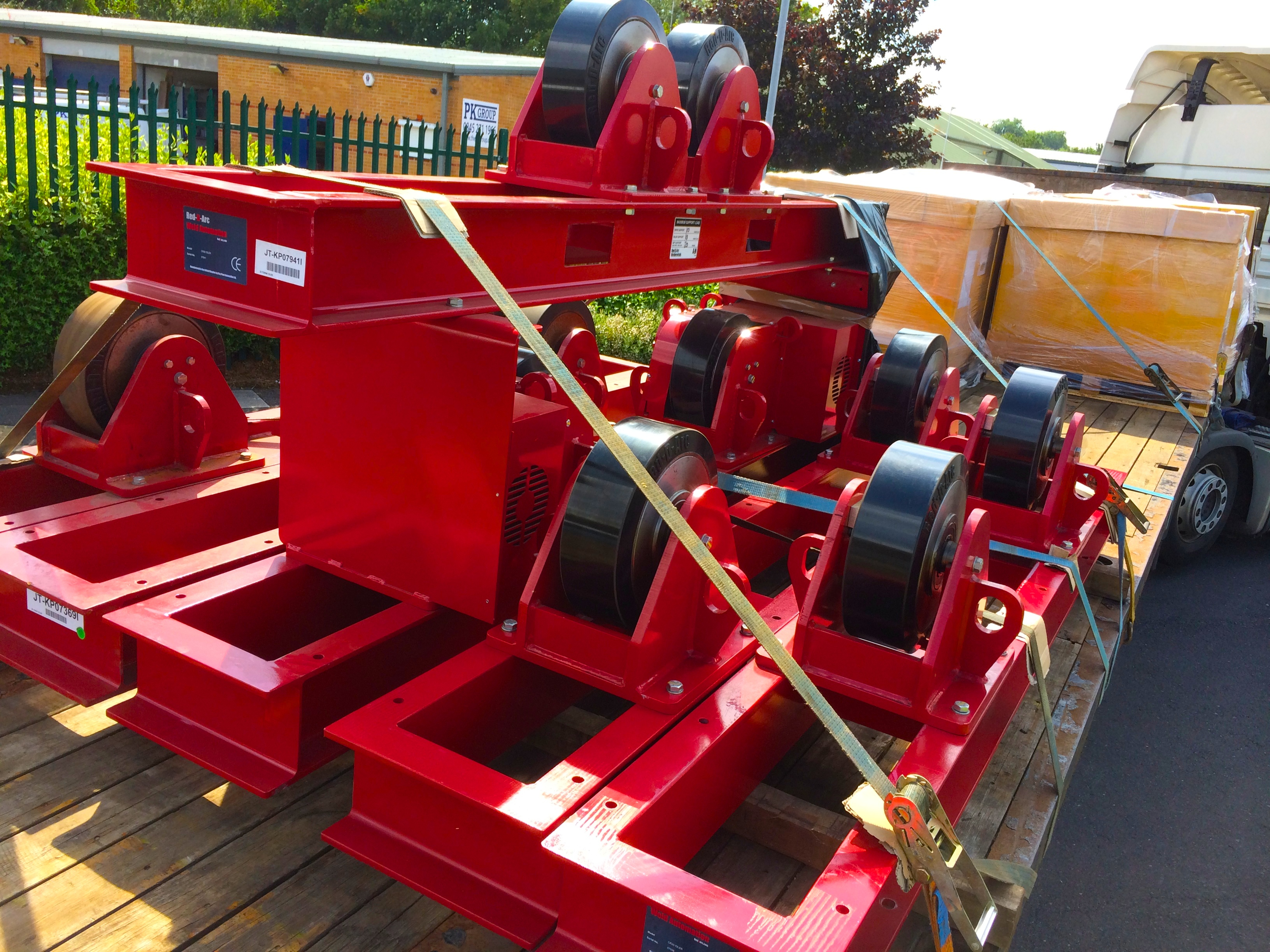 19 CR 20 Tonne Welding Rotators