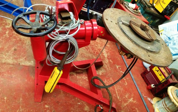 BODE Man-O-Matic 500kg Welding Positioner