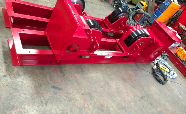 2 CR 20 Tonne Welding Rotators