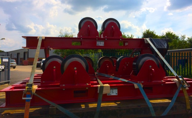 20 CR 20 Tonne Welding Rotators
