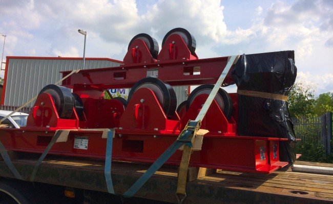 21 CR 20 Tonne Welding Rotators