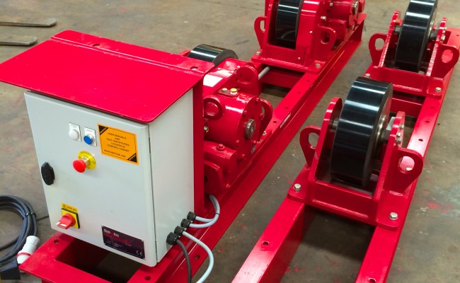 3 CR 20 Tonne Welding Rotators