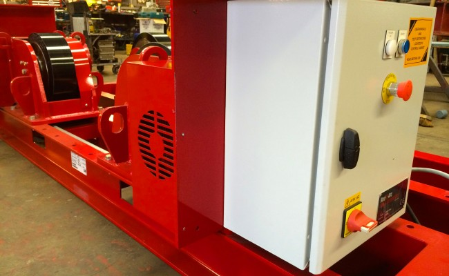 4 CR 20 Tonne Welding Rotators