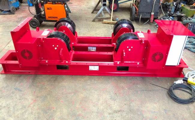 5 CR 20 Tonne Welding Rotators
