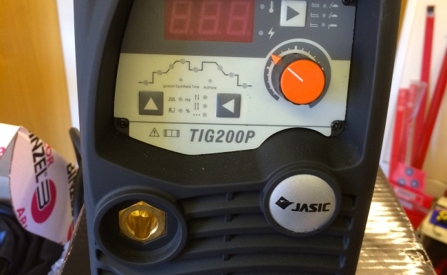 5. Jasic TIG 200P Inverter Welder