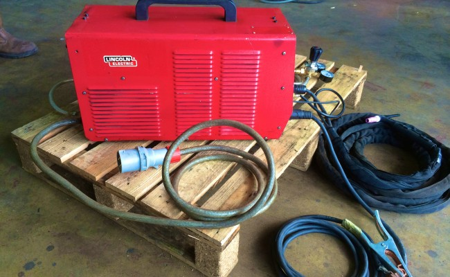 6 Lincoln Invertec V400-T TIG Welder