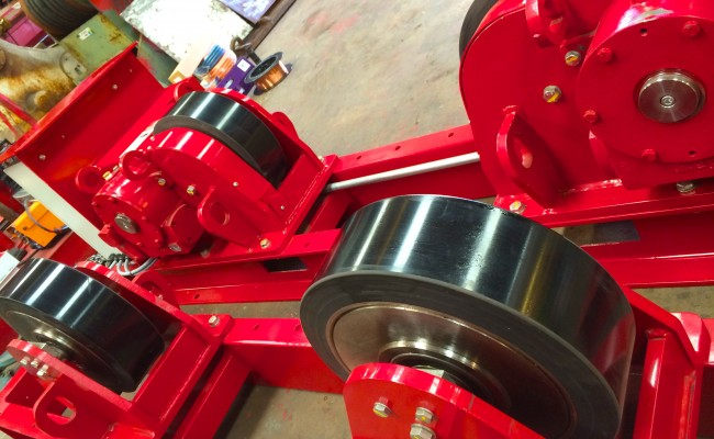7 CR 20 Tonne Welding Rotators