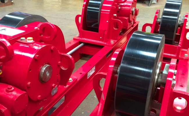 8 CR 20 Tonne Welding Rotators