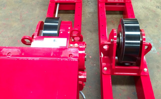 9 CR 20 Tonne Welding Rotators