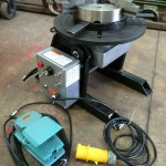 1. 150kg Welding Positioner with quick release chuck