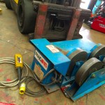 1. Pandjiris 5 Tonne Steel Wheel Pipe Rotators