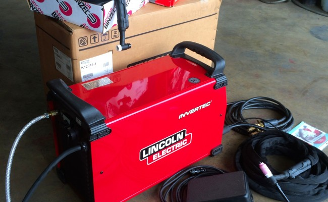 10. Lincoln Electric Invertec 400TPX TIG Inverter
