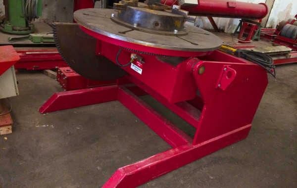 5 Tonne Welding Positioner with Large 3 Jaw Chuck