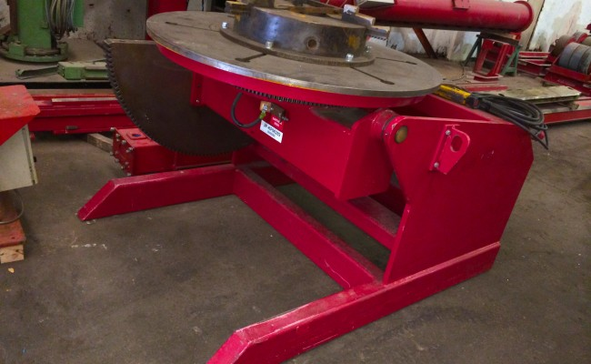 12. 5 Tonne Welding Positioner with 3 Jaw Chuck