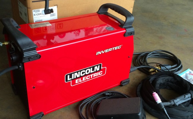 15. Lincoln Electric Invertec 400TPX TIG Inverter