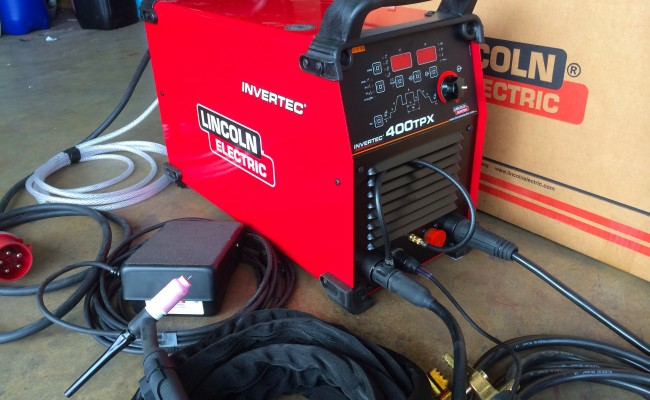 2. Lincoln Electric Invertec 400TPX TIG Inverter