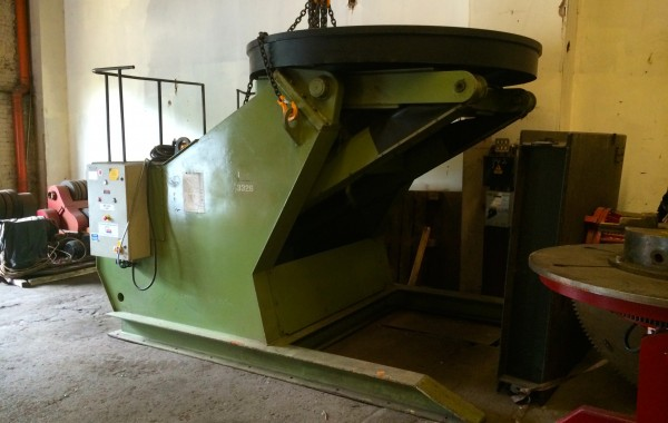25 Tonne Welding Positioner
