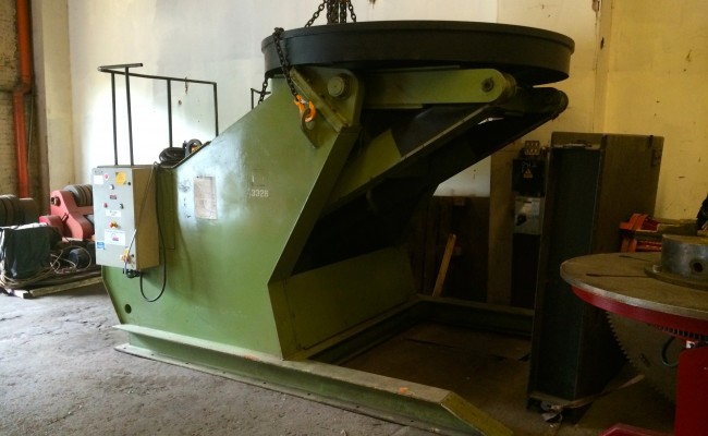 3. 25 Tonne Welding Positioner