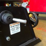 4. 150kg Welding Positioner with quick release chuck