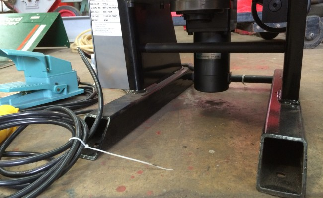 5. 150kg Welding Positioner with quick release chuck