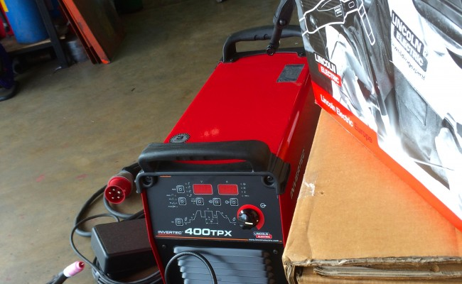 5. Lincoln Electric Invertec 400TPX TIG Inverter