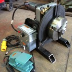 6. 150kg Welding Positioner with quick release chuck