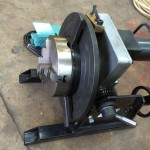 8. 150kg Welding Positioner with quick release chuck