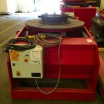 8. 5 Tonne Welding Positioner with 3 Jaw Chuck