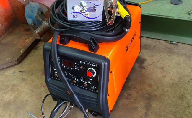 8. Jasic 315P AC:DC Digital 3 Phase TIG Welding Inverter