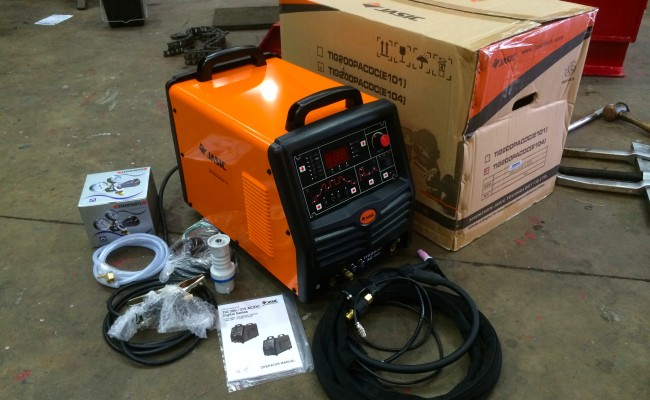 01. Jasic 200P ACDC Digital TIG Inverter