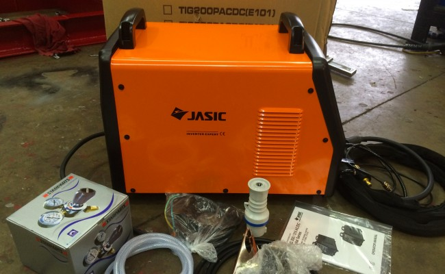 06. Jasic 200P ACDC Digital TIG Inverter