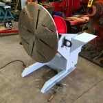 1. 750kg Welding Positioner with 3 Jaw Chuck