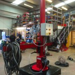 10. 1.8 m x 1.8 m Column and Boom Welding Manipulator with Lincoln Electric LT7 Controller Build Process