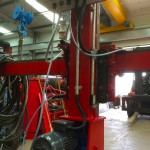 11. 1.8 m x 1.8 m Column and Boom Welding Manipulator with Lincoln Electric LT7 Controller Build Process