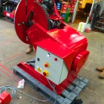 13. 750kg Welding Positioner with 3 Jaw Chuck