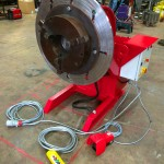 15. 750kg Welding Positioner with 3 Jaw Chuck