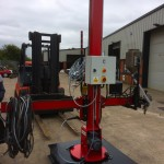 16. 1.8 m x 1.8 m Column and Boom Welding Manipulator with Lincoln Electric LT7 Controller Build Process