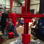 2.1.8 m x 1.8 m Column and Boom Welding Manipulator with Lincoln Electric LT7 Controller Build Process