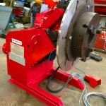 20. 750kg Welding Positioner with 3 Jaw Chuck