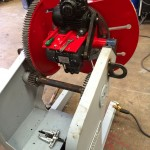 3. 750kg Welding Positioner with 3 Jaw Chuck