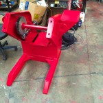 5. 750kg Welding Positioner with 3 Jaw Chuck