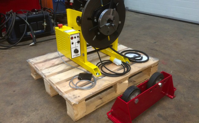 1. 300kg Welding Positioner with Chuck