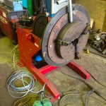 1. Used 1 Tonne Welding Positioner with Chuck