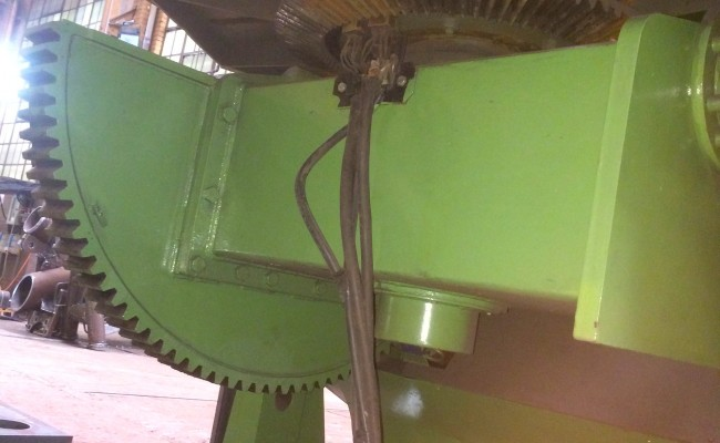 10. BODE 7.5 Tonne Welding Positioner with Adjustable Raising Frame