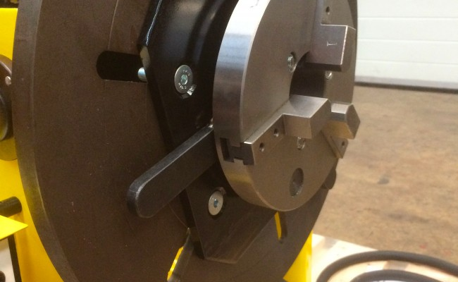 15. 300kg Welding Positioner with Chuck