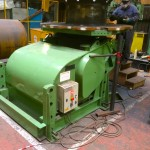 2. BODE 7.5 Tonne Welding Positioner with Adjustable Raising Frame