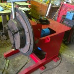 2. Used 1 Tonne Welding Positioner with Chuck