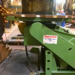 4. BODE 7.5 Tonne Welding Positioner with Adjustable Raising Frame