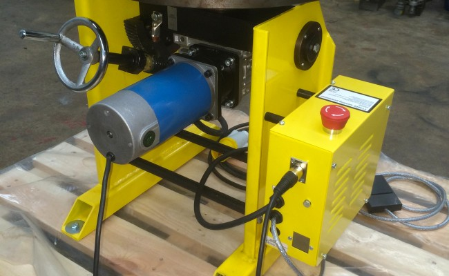 5. 300kg Welding Positioner with Chuck